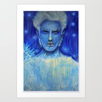 jack frost Art Prints featuring 'Jack Frost' by Katja K