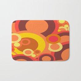 Abstract Collection Of Circles Bath Mat
