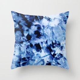 Ice Dye #1 Throw Pillow
