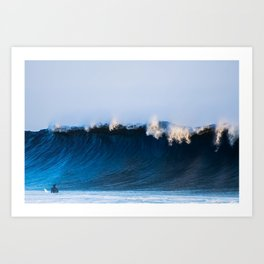 Surfing - The Blue Crush Art Print