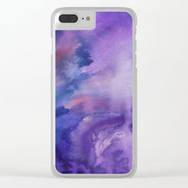 ON HOLD Watercolour Clear iPhone Case