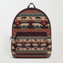 Boho animals | Autumn fox sunset Backpack