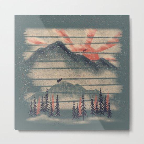 Mountain Goat Drifter... Metal Print