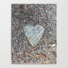 Wild Rock Heart Poster