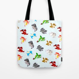 httyd pattern Tote Bag