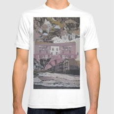 Waterworks SMALL White Mens Fitted Tee