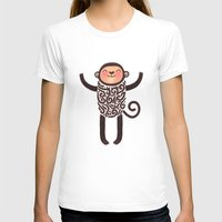 monkey island T-shirts featuring Monkey by Anna Alekseeva kostolom3000