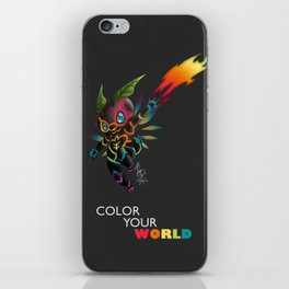 Color Your World iPhone Skin