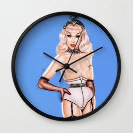 PIN-UP DOLL - ONE OF A KIND COLLECTABLE Wall Clock
