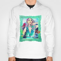 pisces Hoodies featuring Pisces by Sara Eshak