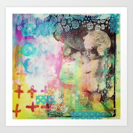 Cherub Art Print