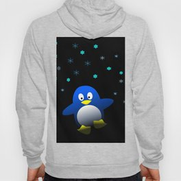 Dancing Penguin in the Dark Hoody