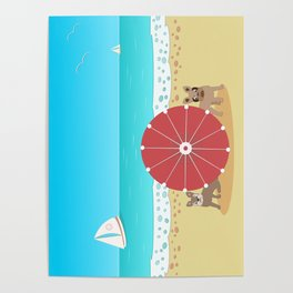 Holiday Romance - Behind the Red Umbrella Poster