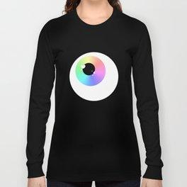 Lovely Sparkly Rainbow Eyeballs Long Sleeve T-shirt