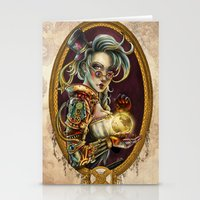 steampunk Stationery Cards featuring Steampunk by Mili Koey