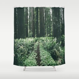 Happy Trails XII Shower Curtain