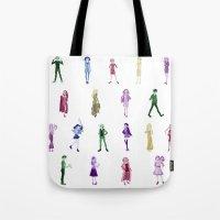 ahs Tote Bags featuring AHS by Ree (rvsalochka)