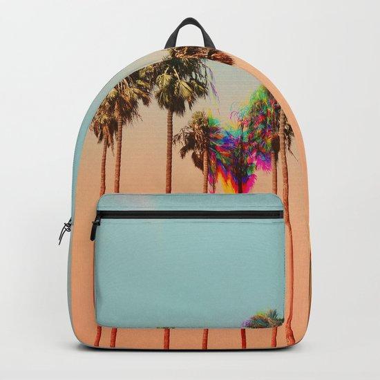 Glitch beach Backpack