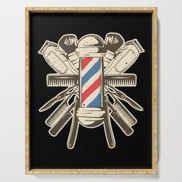 Barber Accessories | Beard Hairdresser Serving Tray