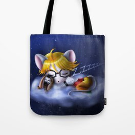 Starlight and Dewdrops Tote Bag