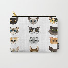Cats a Plenty Carry-All Pouch