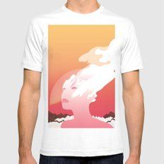 SUCK IT AND SEE Mens Fitted Tee White MEDIUM