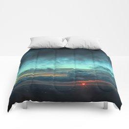 Light On The Horizon Comforters