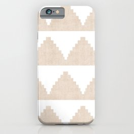 Lash in Tan iPhone Case