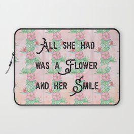 Surfer girl quotes Laptop Sleeve