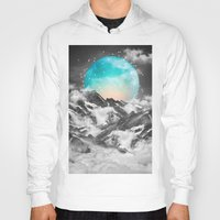 snow Hoodies featuring It Seemed To Chase the Darkness Away by soaring anchor designs