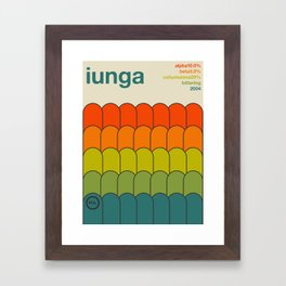 iunga single hop Framed Art Print