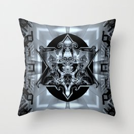 Pollutted Throw Pillow