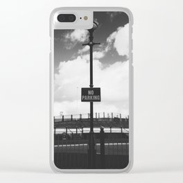 No Parking Clear iPhone Case