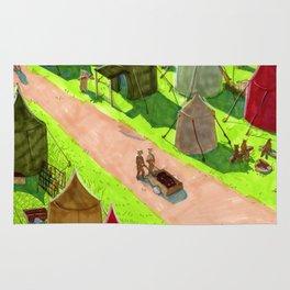 Aslan's camp Rug