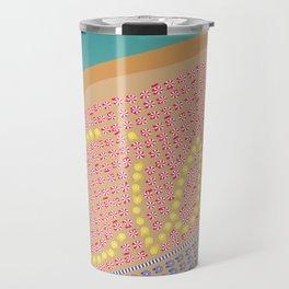 Ciao / Hello Italy Beach Umbrellas - Aerial Italian Travel Mug