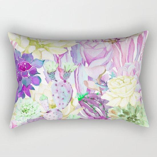 Lilac garden Rectangular Pillow