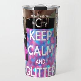 Glitter On! Travel Mug