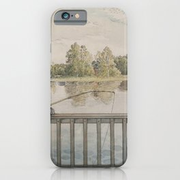 Carl Larsson - Lisbeth Angling iPhone Case