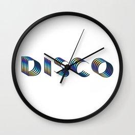 DISCO || #society6 #disco #decor Wall Clock