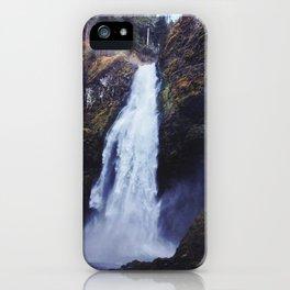 Secret Oregon Waterfall iPhone Case