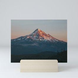 Mount Hood Sunset Mini Art Print
