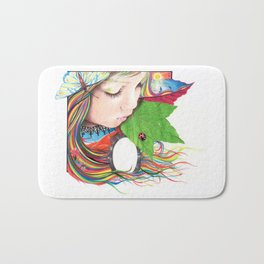 If Mother Earth Was a Child... Bath Mat