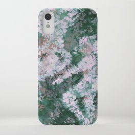 Seeing Something in Nothing iPhone Case