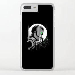 My Giant Friend Clear iPhone Case