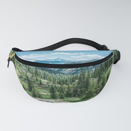 Colorado Wilderness // Why live anywhere else? Amazing Peaceful Scenery with Evergreen Dusted Hills Fanny Pack