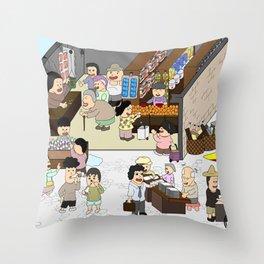 Provision Shop Throw Pillow