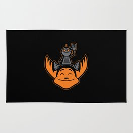 Ratchet & Clank Rug