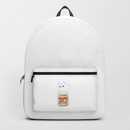 cats and nutella 584 Backpack