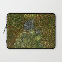 Old stone wall with moss Laptop Sleeve
