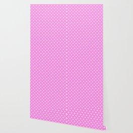 Trellis_Pink Wallpaper